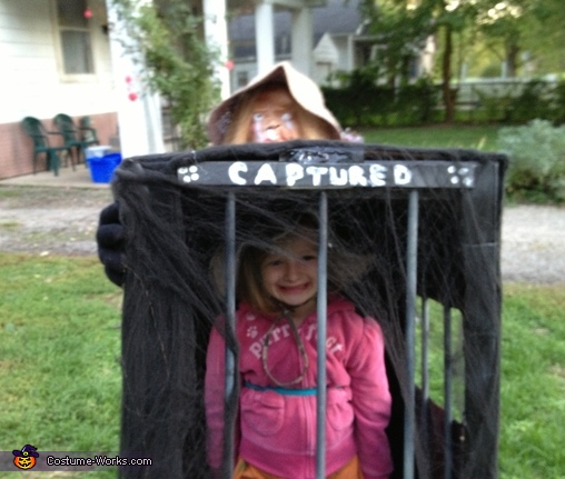 Captured in a Cage Homemade Costume