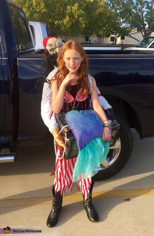 Captured Mermaid Costume