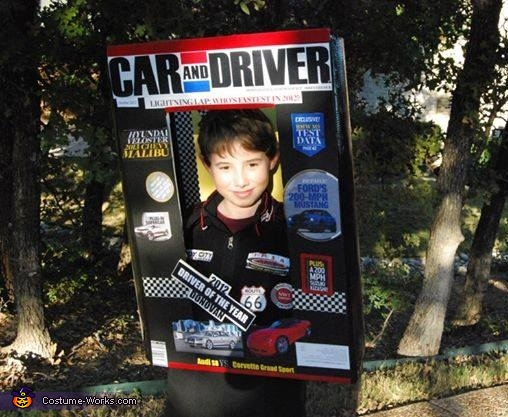 Car & Driver Magazine Costume