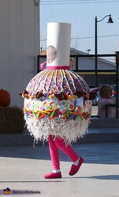 Caramel Candy Apple Costume