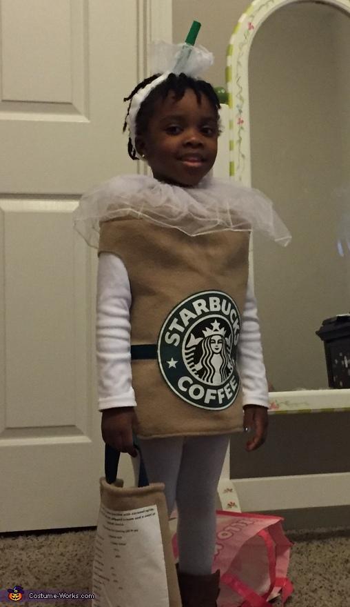 Caramel Frappuccino Costume
