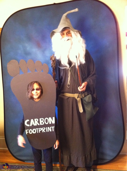 Carbon Footprint Costume