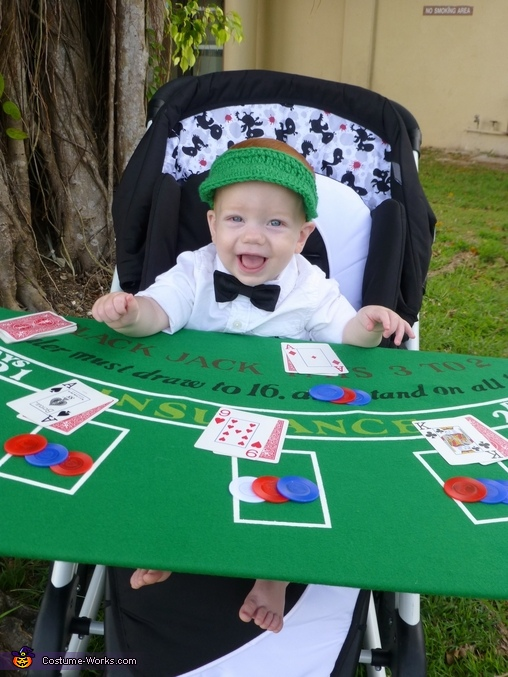 Card Dealer Baby Costume