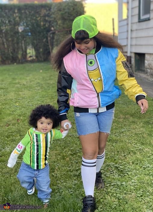 Cardi B and Bruno Mars Costume