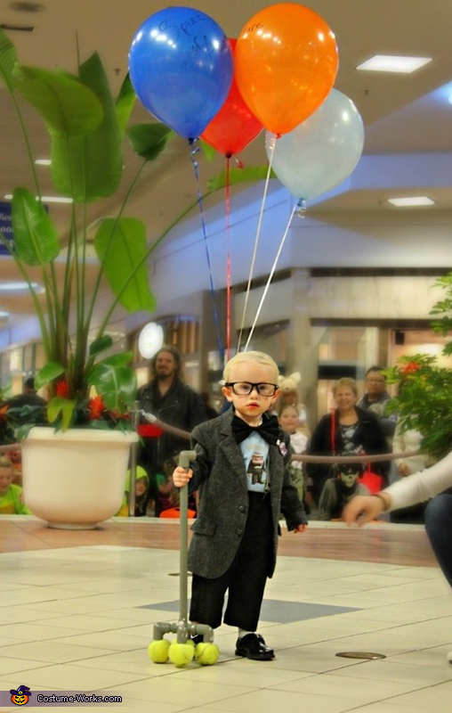 Carl the Old Man from Disney's Up Homemade Costume