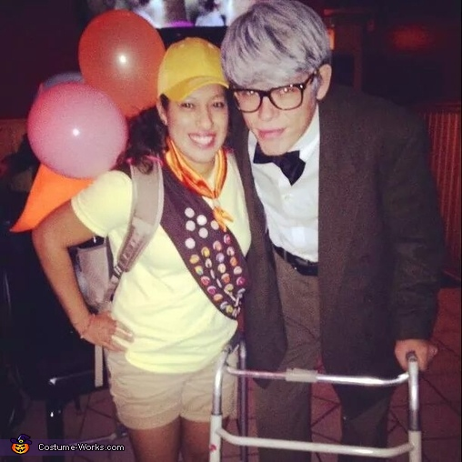 Carl and Russell Couple Costume