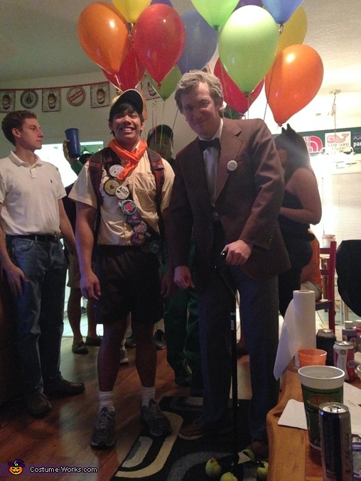 Carl and Russell from Up Costume