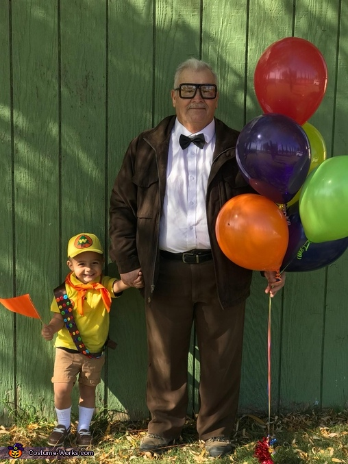 Carl and Russell from UP Homemade Costume