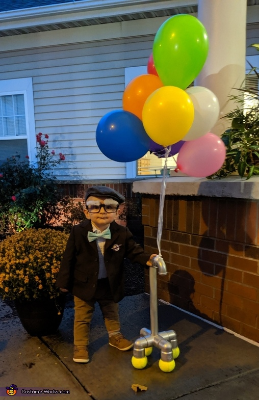 Carl Frederickson from Pixar's movie UP Costume