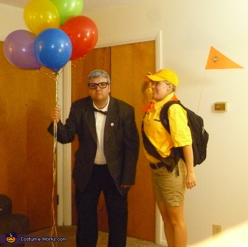 Carl Fredricksen and Russell from Up - Homemade costumes for couples