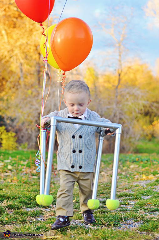 Carl Fredricksen from UP Homemade Costume