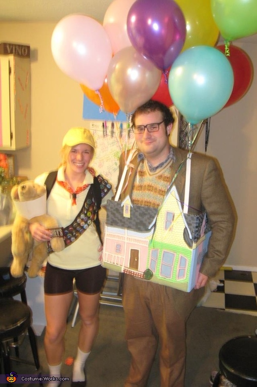 Up Movie Halloween Costumes House With Carl Fredricksen