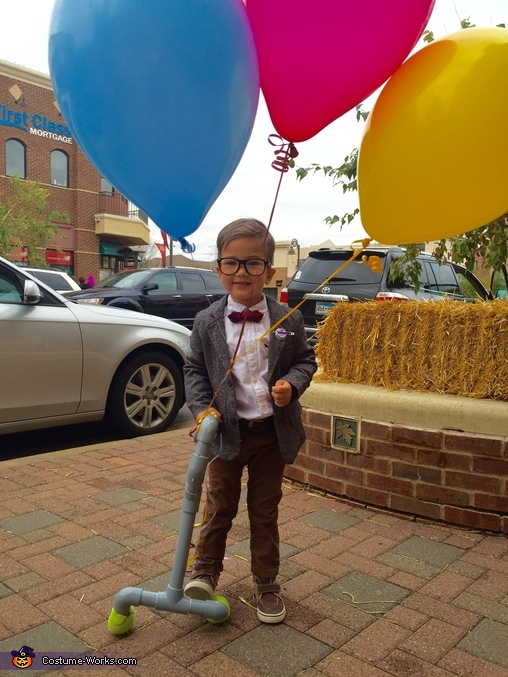 Carl Fredrickson - the movie Up Costume