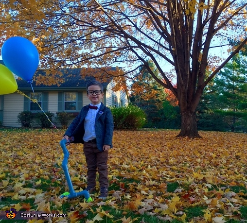 Searching for Paradise Falls, Carl Fredrickson - the movie Up Costume