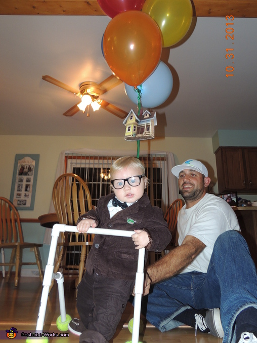 Carl just hanging out on his walker, Carl from the movie Up Costume