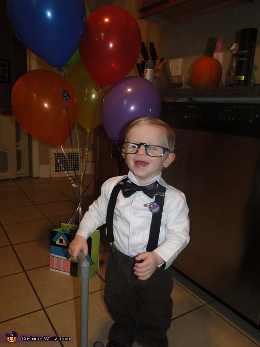 Carl from Up Homemade Costume