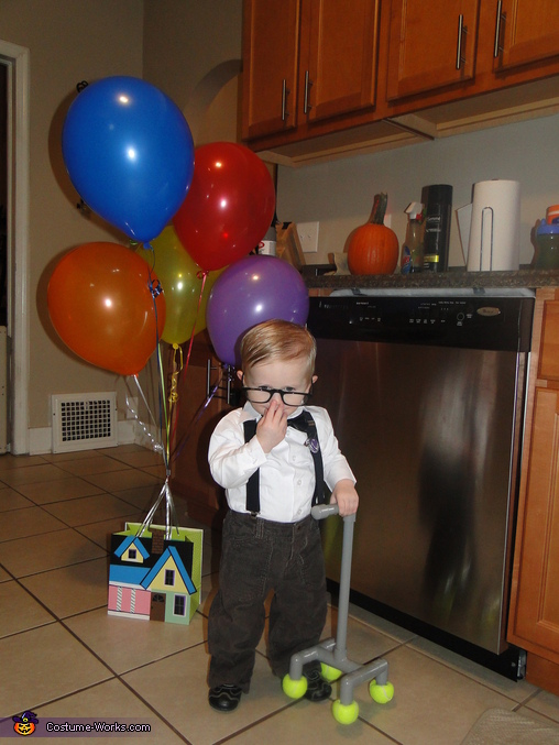 Carl from Up Baby Costume
