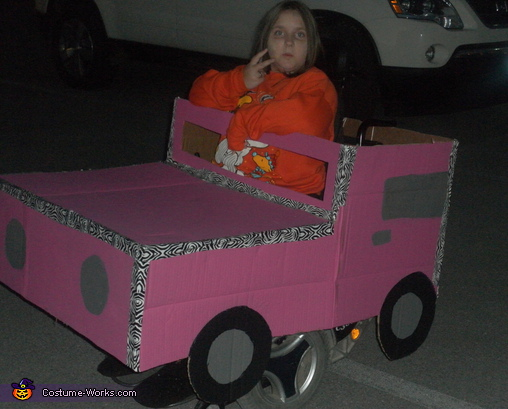 Carlie's Car - Homemade costumes for kids