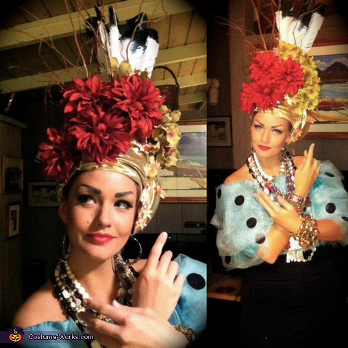 Carmen Miranda - Homemade costumes for women
