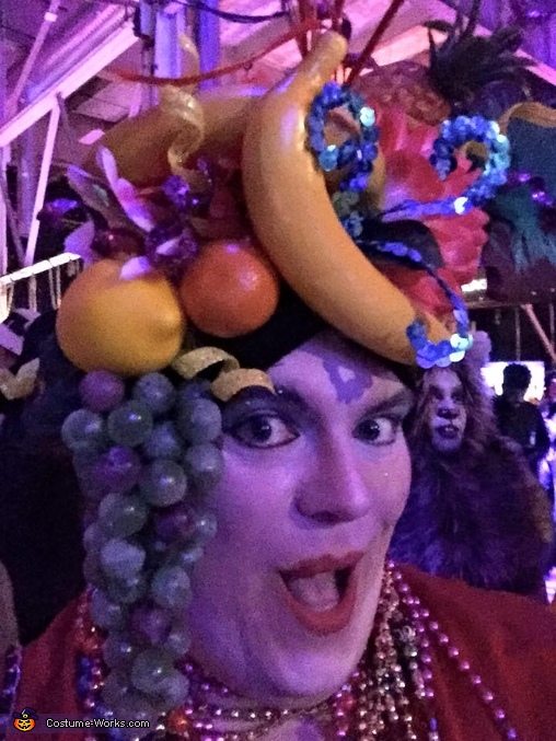The 'Lady' in the Tutti-Fruitti Hat, Carmen Miranda Costume