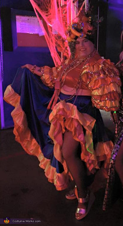 The whole enchalada, Carmen Miranda Costume