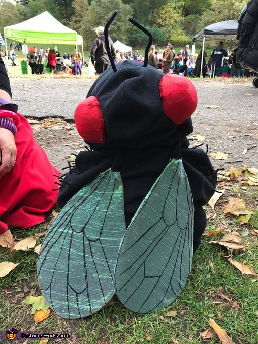 Fly detail, Carmen Miranda, Fruit Fly & Spider Costume