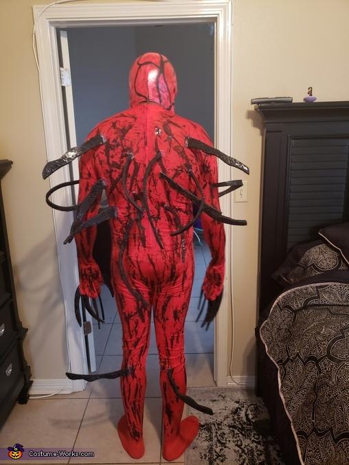 Carnage Homemade Costume