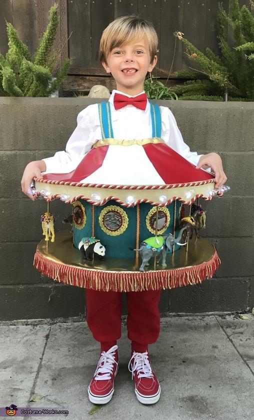 Carnival Carousel Homemade Costume