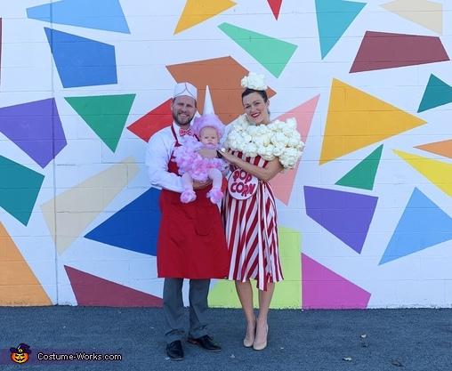 Yummy family, Carnival Snacks Costume