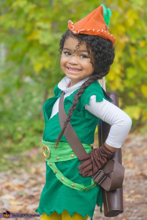 Téa as Carol of The Arrow!, Carol of The Arrow Costume