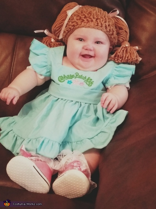 Caroline the Cabbage Patch Doll Costume
