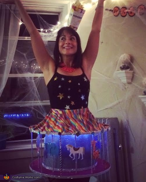 DIY Carousel Costume