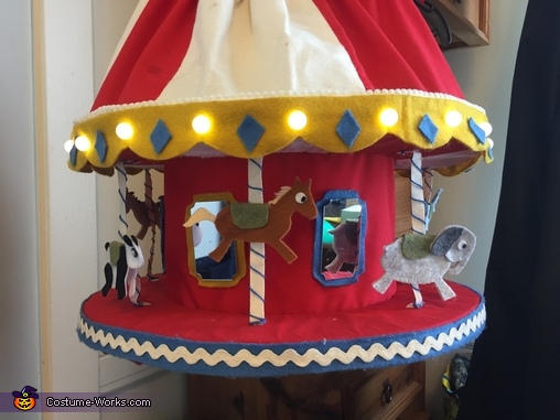 Close up, Carousel Costume