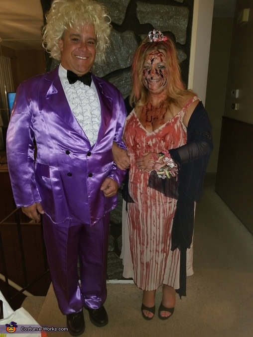 Carrie & Tommy Homemade Costume