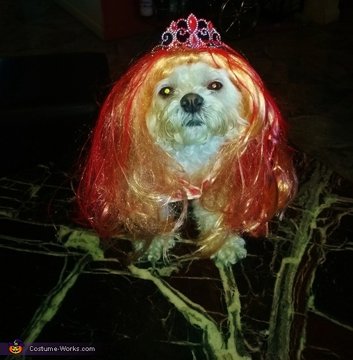 Coco as Carrie White Costume
