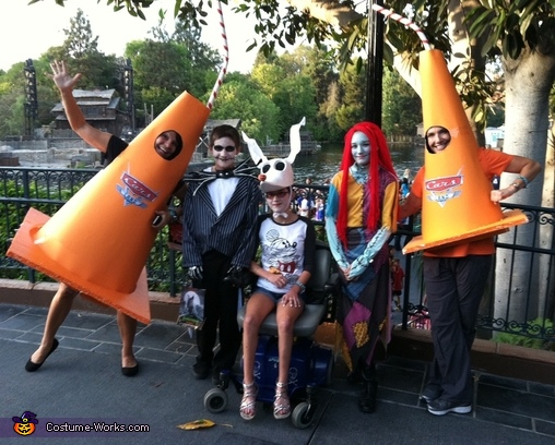 Sippy Cones with the kids :), Cars Land Sippy Cone Costumes