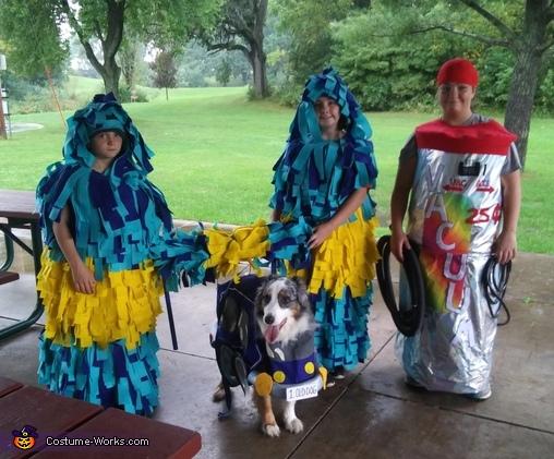 Carwash Costume