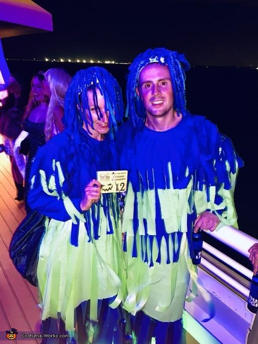 Carwash Couple Costume