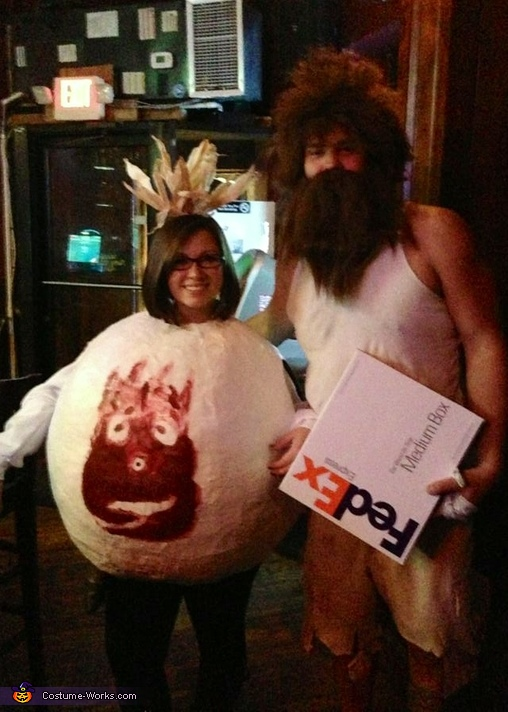 Cast Away Couple Costume