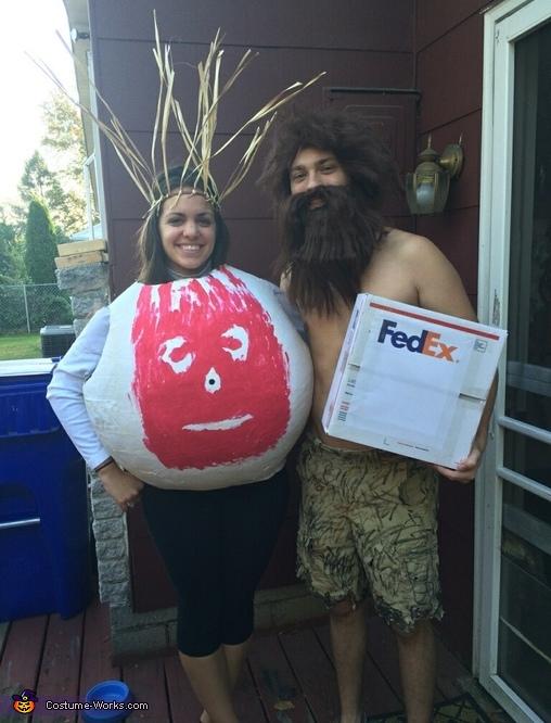 Castaway Wilson and Chuck Noland Costume