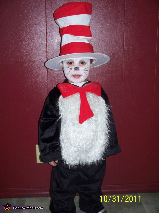 Cat in the Hat - Homemade costumes for boys