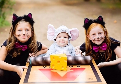 Cat & Mouse Costume