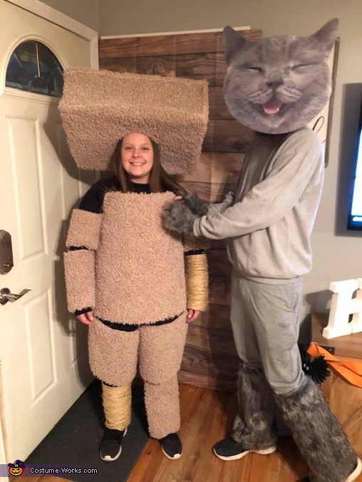 Cat Tree & Cat Costume