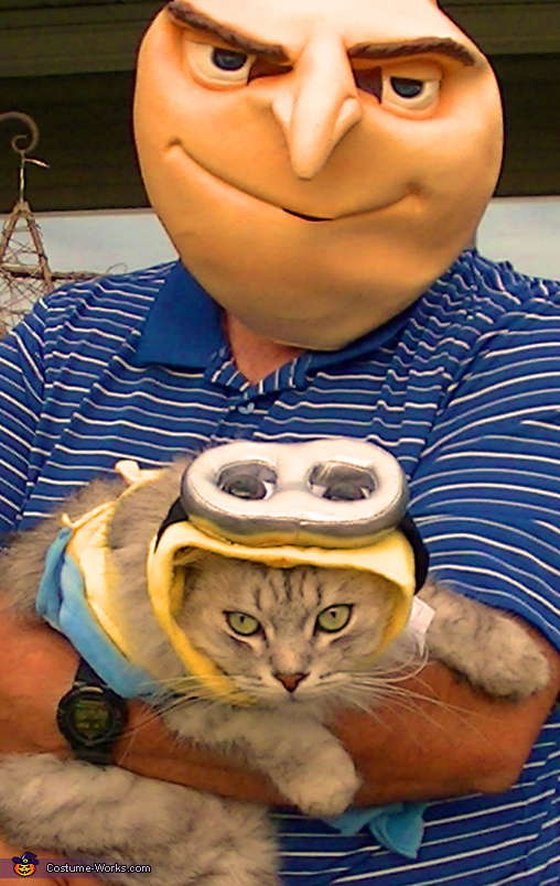 Minion Cat Costume