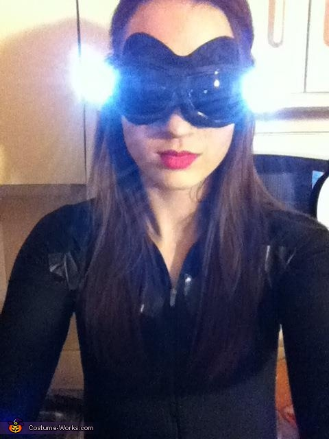 Catwoman Goggles, Catwoman and Batman Costume