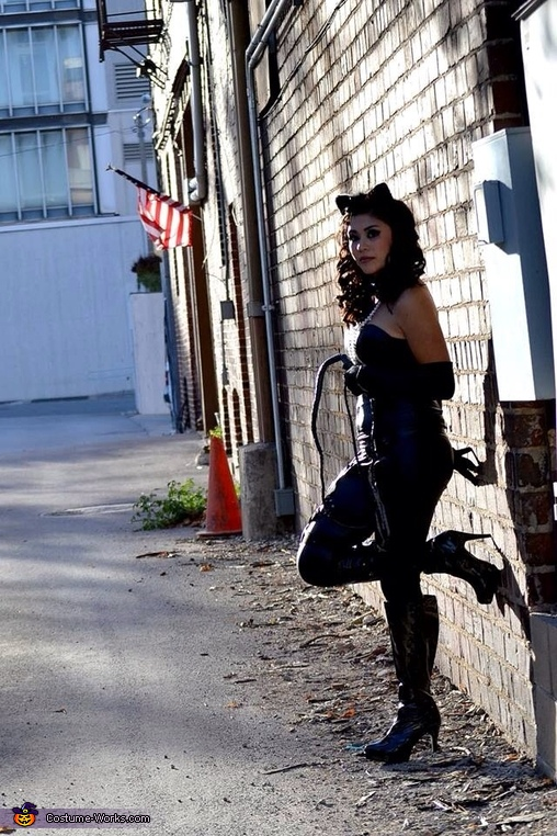 Alley cat, Catwoman Costume