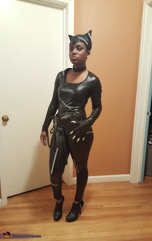 Catwoman Homemade Costume