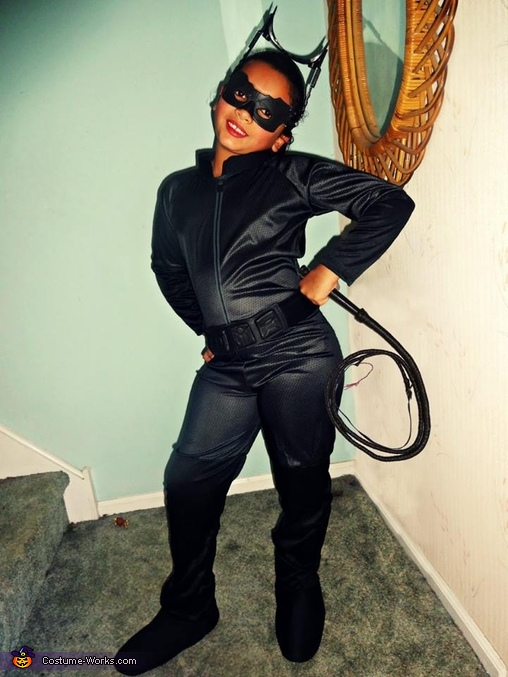 Catwoman Girl's Costume
