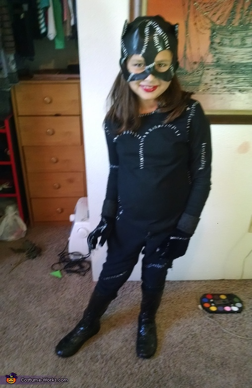Catwoman Girl's Halloween Costume