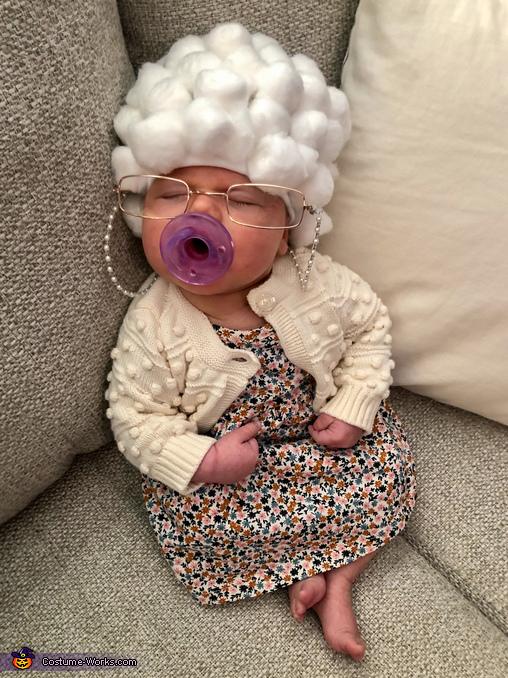 Caught Grandma Snoozin' Costume
